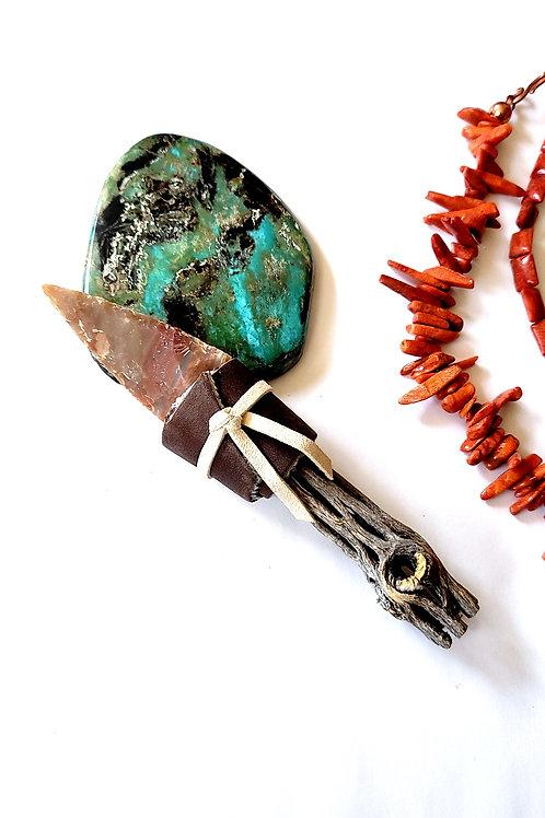 #1 Pueblo Made Arrowhead Knife