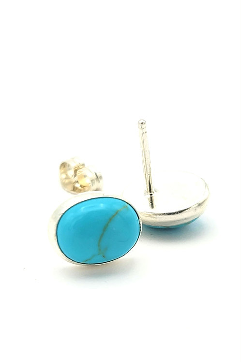 TURQUOISE STERLING STUDS