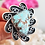 Thumbnail: #8 TURQUOISE RING BY MARLENA TOM 5TH GEN NAVAJO ARTIST
