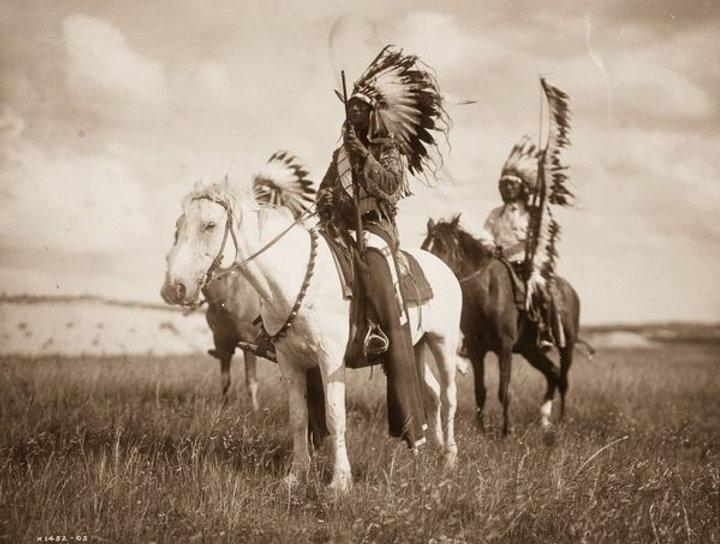 Navajo Hunting Party Native American Chief