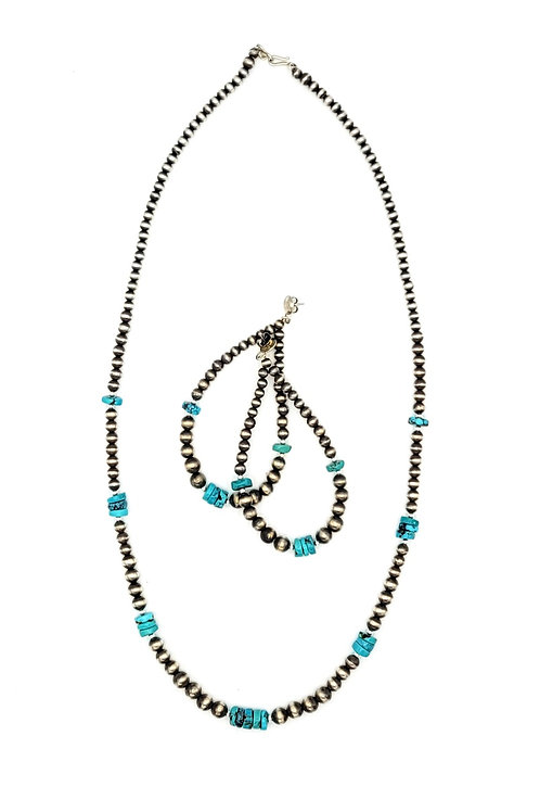 Navajo Pearls Necklace made in usa