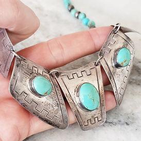 Navajo Old Pawn Jewelry