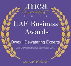 Dwex Dewatering | UAE Business Award 2019 | Dewatering For Companies in Dubai | AbuDhabi | RAK | UAQ