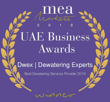 Awarded Best Dewatering Company in UAE