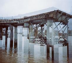 Greenwich Power Station, Coal Jetty Pier, Dynamic Multiple Exposure