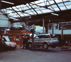 Park Row Garage, East Greenwich