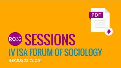 RC32 SESSIONS at IV ISA FORUM OF SOCIOLOGY