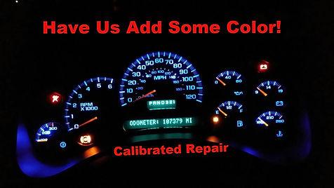 2005 chevy tahoe cluster repair