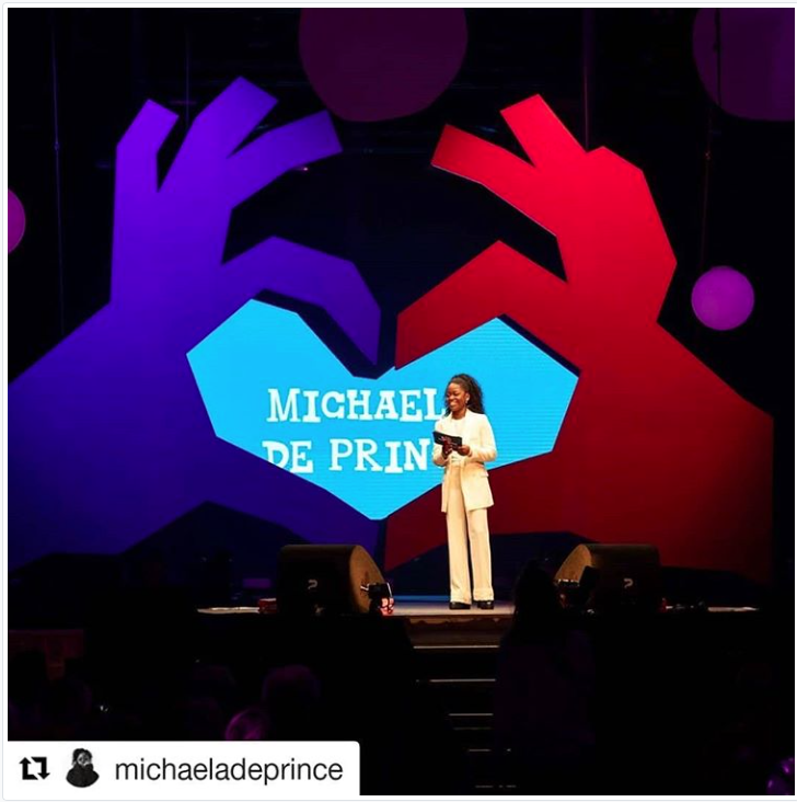 Tony's FAIR 2018 Michaela De Prince