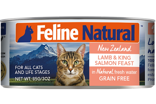 Feline Natural Lamb & King Salmon Feast 85g