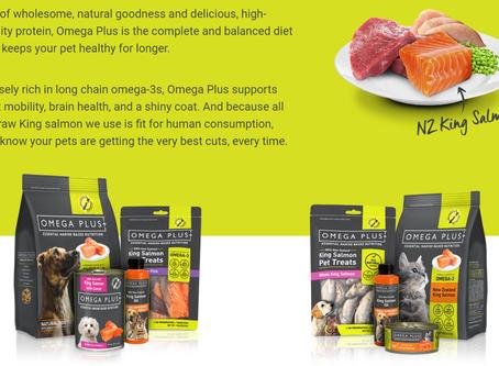 Welcome Omega Plus Pet Food!