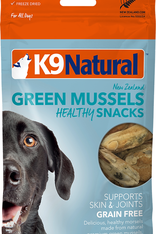 K9 Natural Green Mussel Healthy Bites Snacks Dog Treats 50g