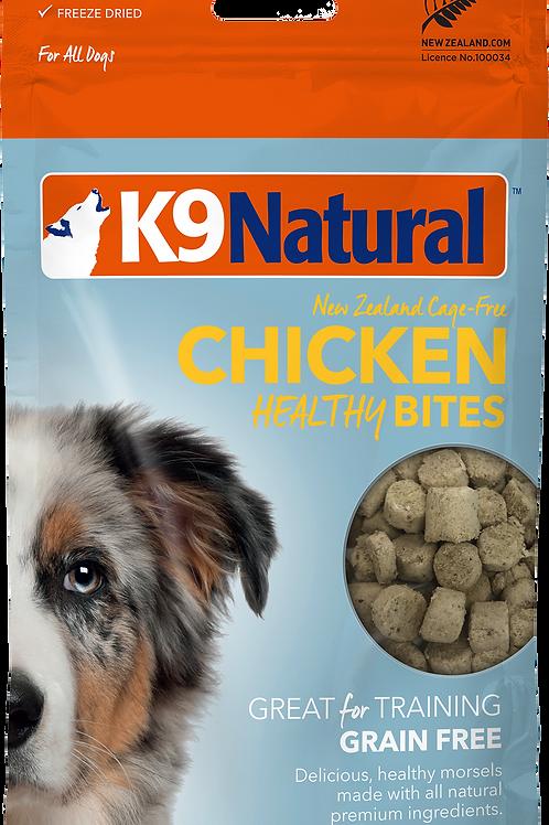K9 Natural Chicken Healthy Bites Dog Treats 50g