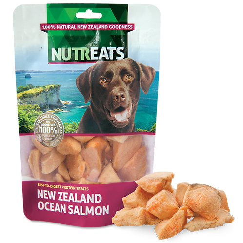 Nutreats New Zealand Ocean Salmon Premium Dog Treats 50g