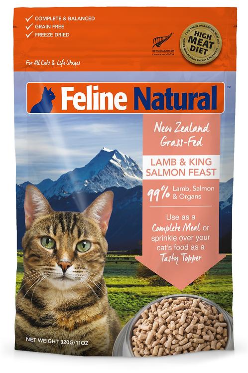 Feline Natural Lamb & Salmon Feast 320g