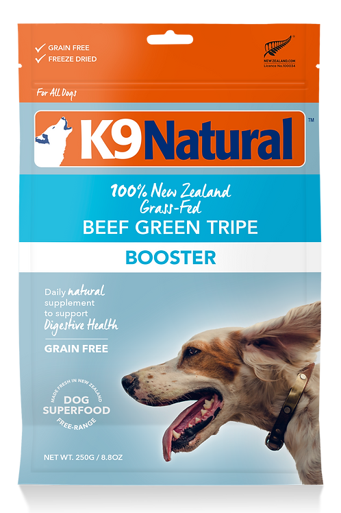 K9 Natural Beef Green Tripe Booster 250g