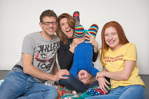Dee Booth and her family