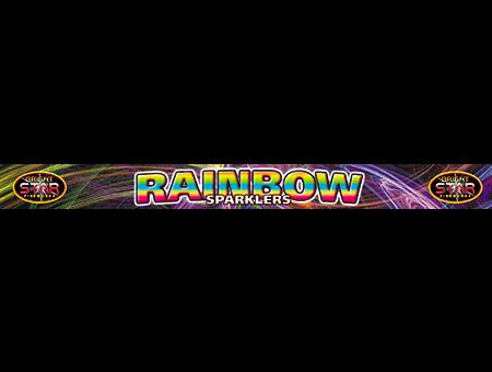 1997 Rainbow Sparklers 18 Inch 4pce £1.79