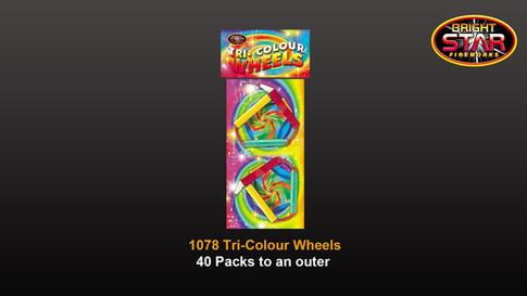 1078 Tri-Colour £3.99