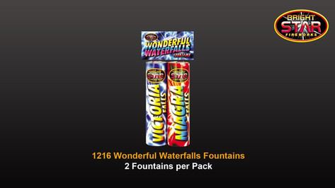 1216 Wonderful Waterfalls £4.99