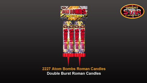 2227 Atom Bombs 2pce Double Shot 1.3G £8.99
