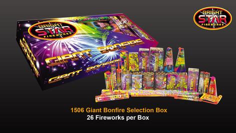 1506 Giant Bonfire Selection Box £21.99