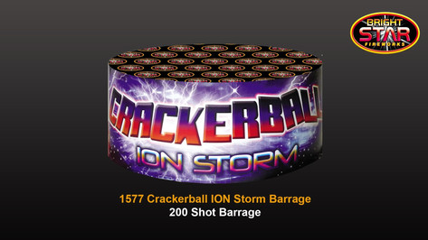 1577 Crackerball Ion Storm £19.99