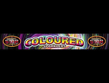 1006 Coloured Sparklers 5pce £0.59