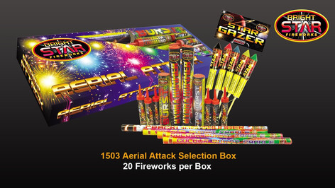 1503 Aerial Attack Selection Box £12.99