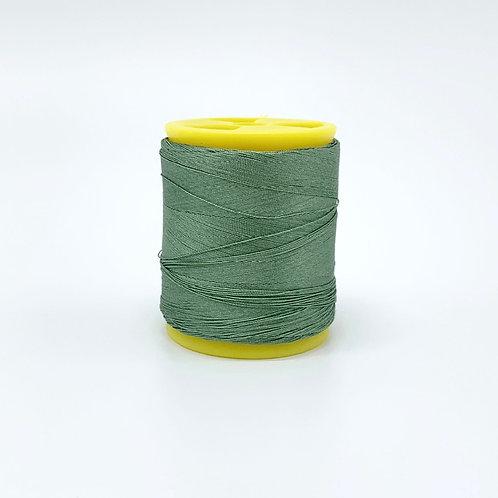 絹糸 緑青色 경사