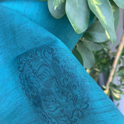 薄絹 エメラルドグリーン