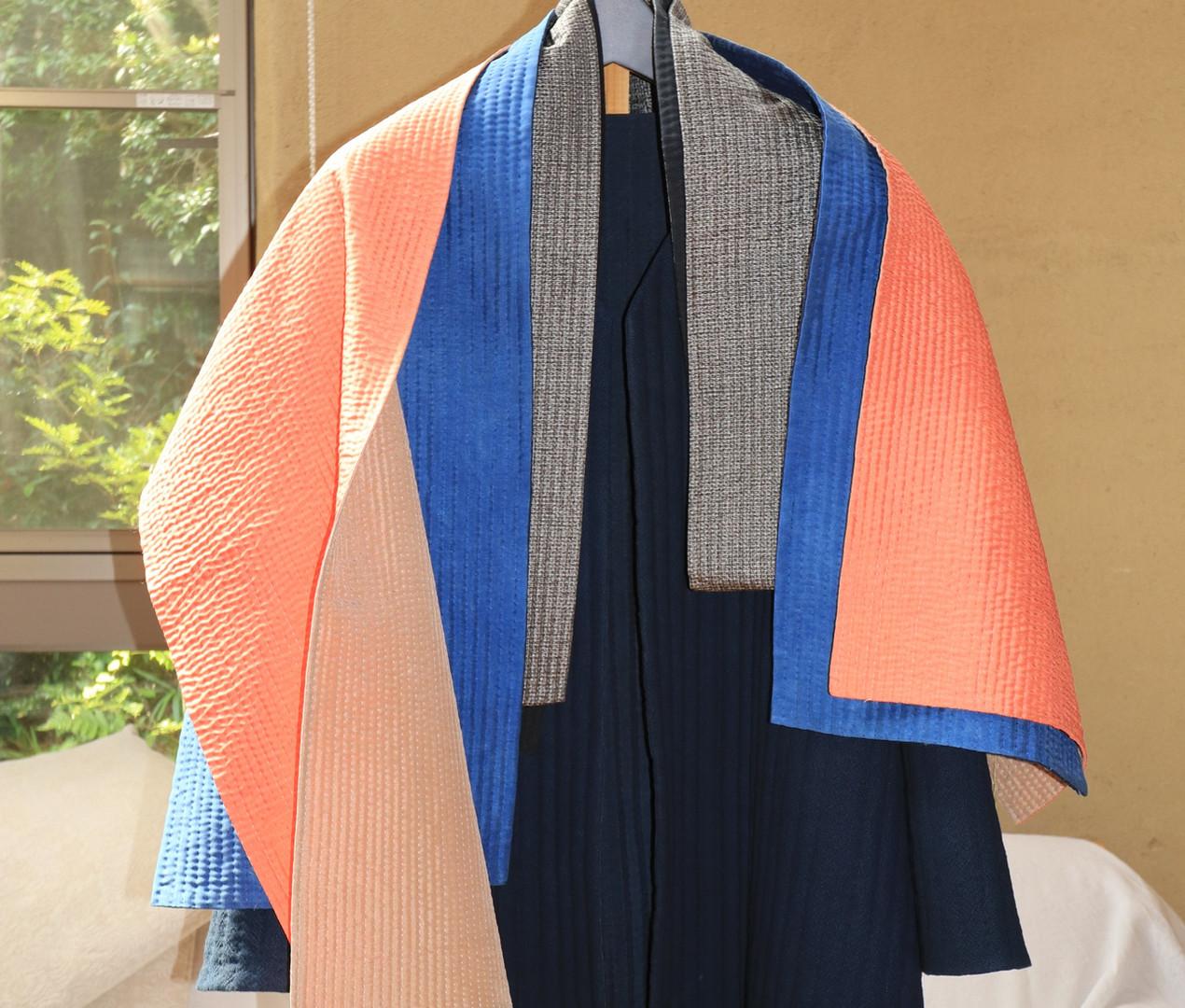 藍染コート