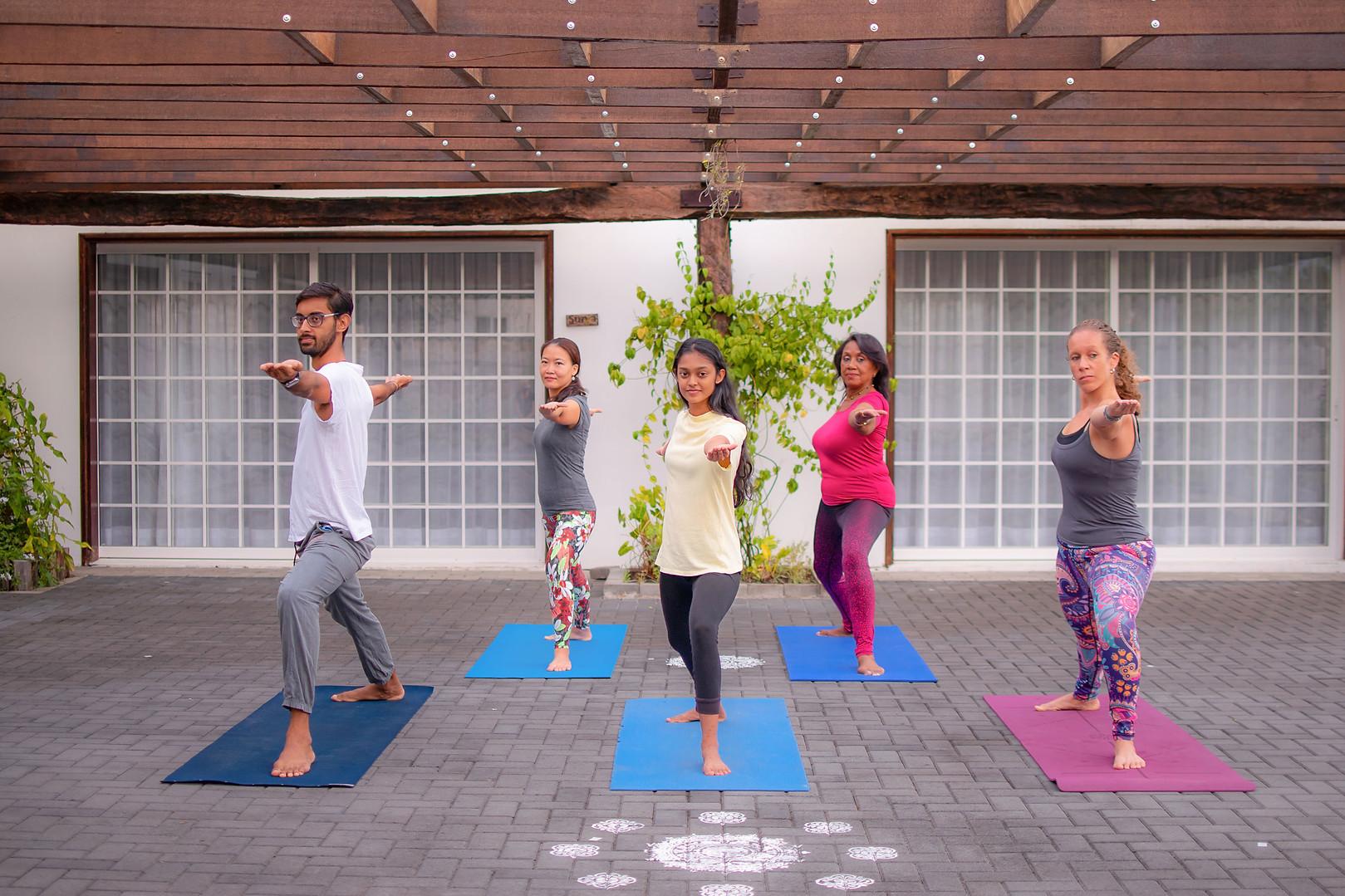 Practice Yoga At Yoga Peetha Happiness Centre