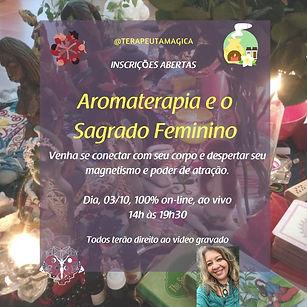 Capa de  Aromaterapia e o Sagrado Femini
