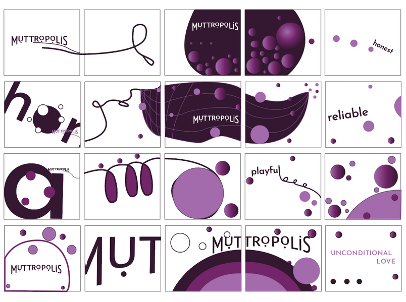 Motion graphic storyboard