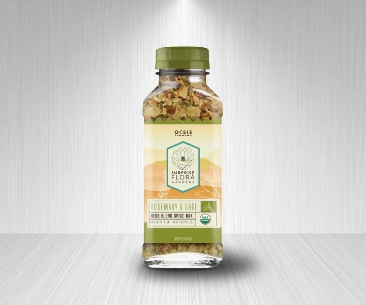 Spice mix bottle