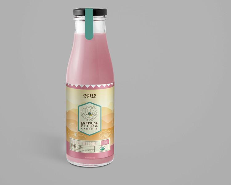 Iced tea bottle