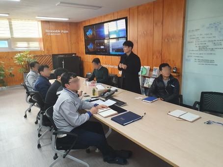 브이젠(주), '태양광 및 풍력 발전기 O&M 비용산정 모델 및 Tool 개발' 과제 협약