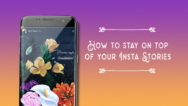 How to Stay on Top of Your Insta Stories