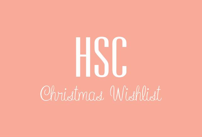 HSC Christmas Wishlist