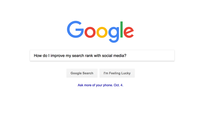 5 Tips for Social Media to Improve Your Search Ranking