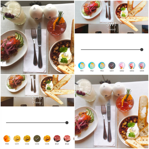 phần mềm chụp ảnh món ăn đẹp