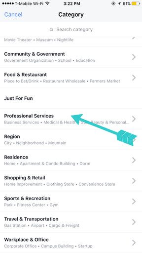 Create a custom location for instagram hannah schneider creative after youve selected a location you can tap the create button in the upper right hand corner ios which will add your custom location to the facebook ccuart Choice Image