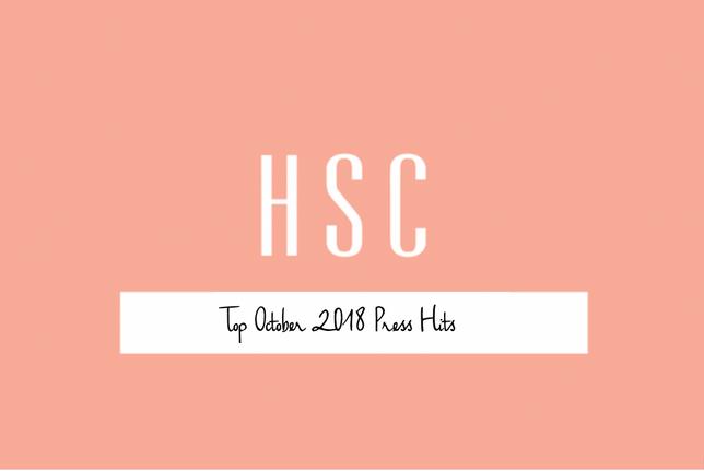 Top October 2018 Press Hits