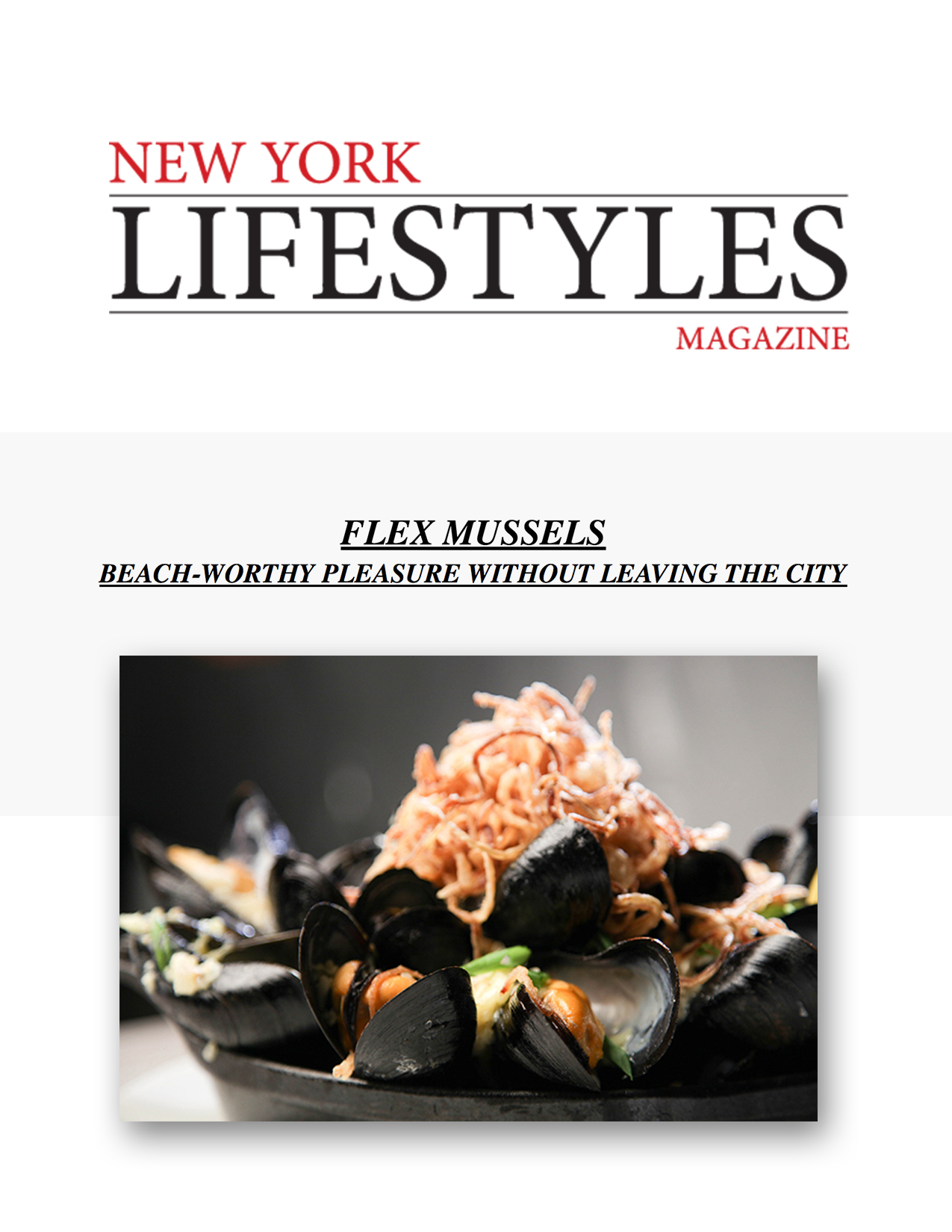 New York Lifestyles