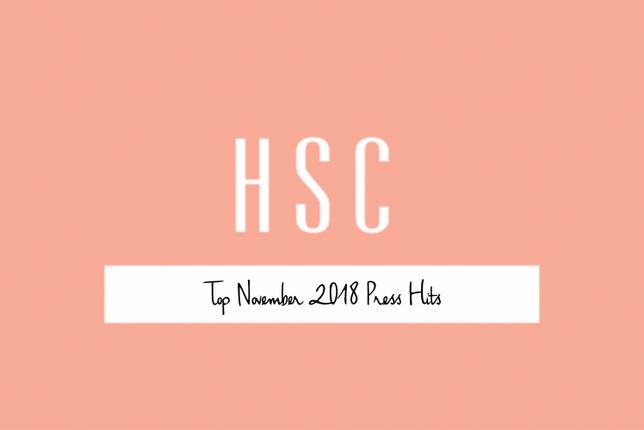 Top November 2018 Press Hits