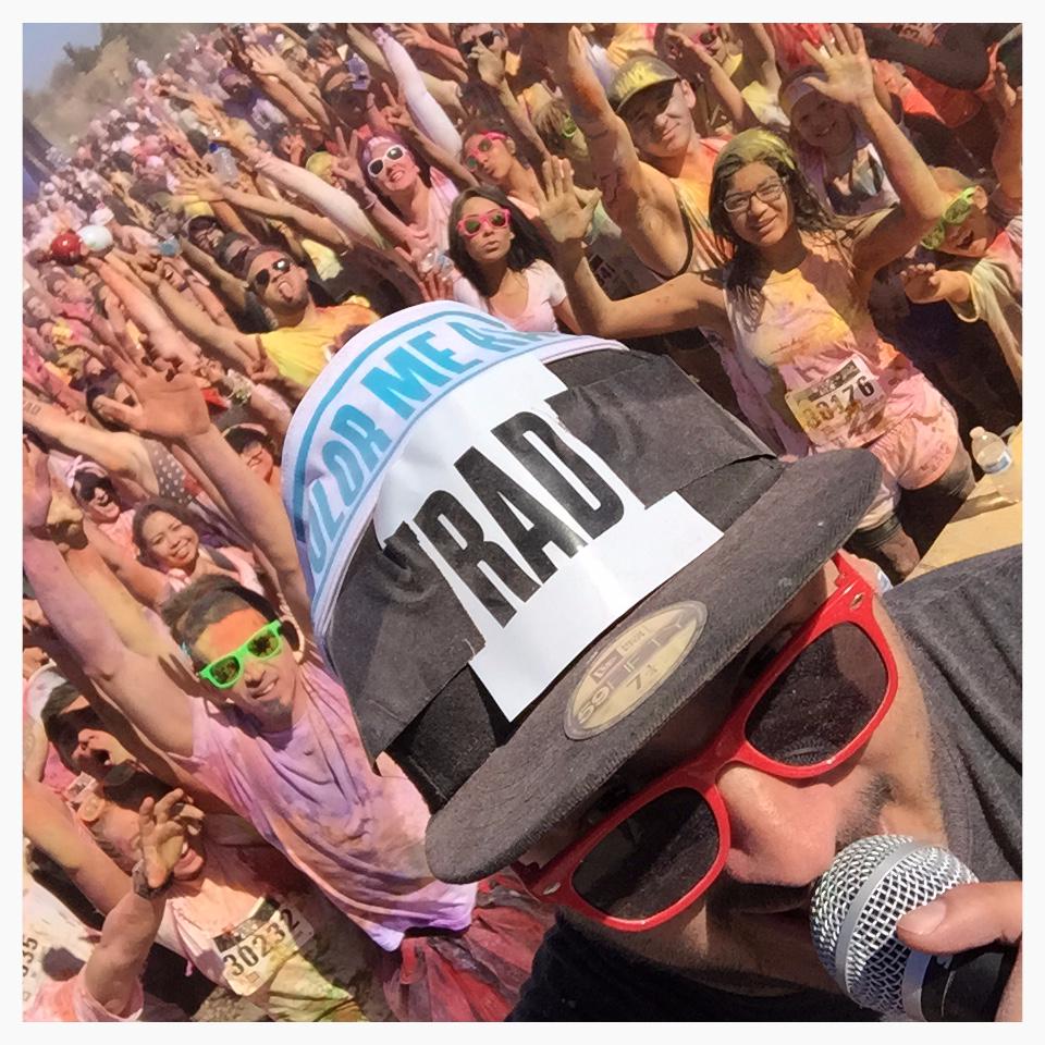 DJ Lunatiko Color Me Rad Selfie