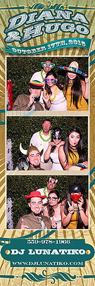 DJ & Photobooth services for Diana and Hugo at Birdstone Winery in Madera, Ca.