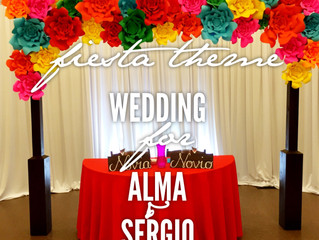 Fiesta Wedding in Selma, Ca
