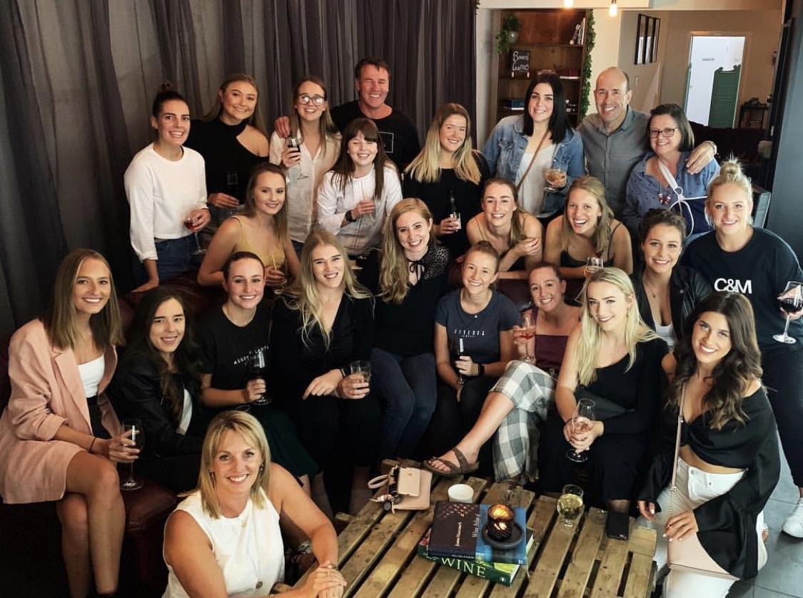 Our ladies Footy team